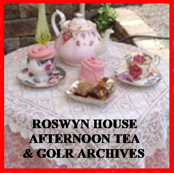 AFTERNOON TEA & ARCHIVES DAY & RUN FOR ROSWYN Sunday 16th June 2019
